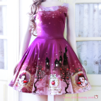 Snow White Skater Dress