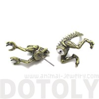Alien vs. Predator AVP Xenomorph Shaped Front and Back ...