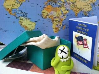 Travel Buddy by Little Green Guy