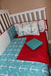 Nautical Anchor 5 Piece Crib Bedding Set  Delta Ann's ...