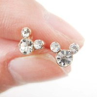 Dotoly Plus | Mickey Mouse Shaped Stud Earrings with ...