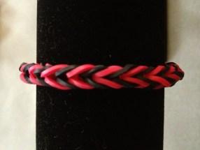 Rainbow Loom Bracelets Red