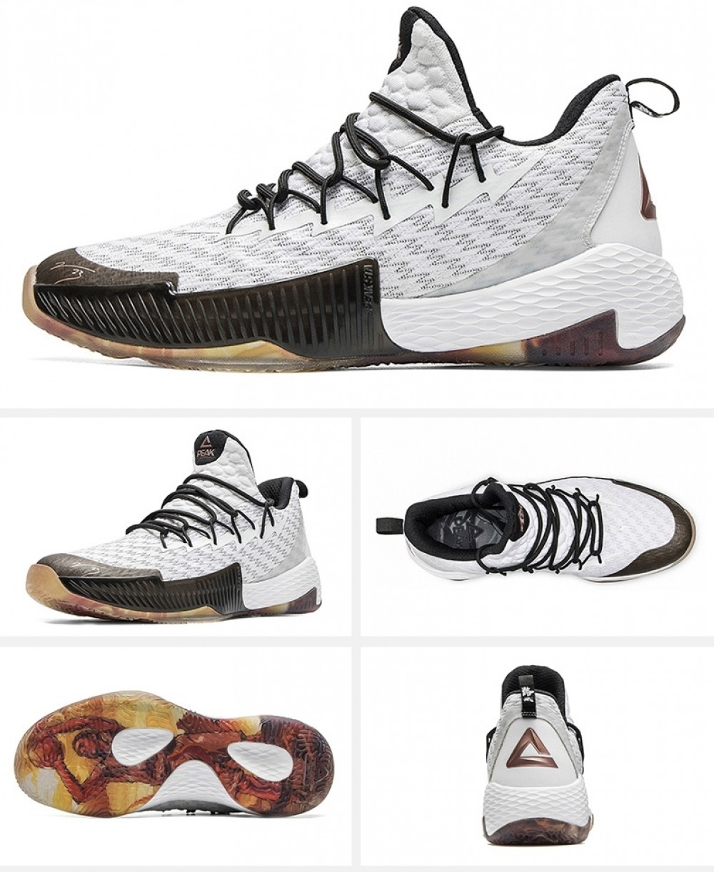 Peak Louis Williams 2019 NBA PLAYOFFS Basketball Sneakers - White · PEAK Sports Brand · Online Store Powered by Storenvy