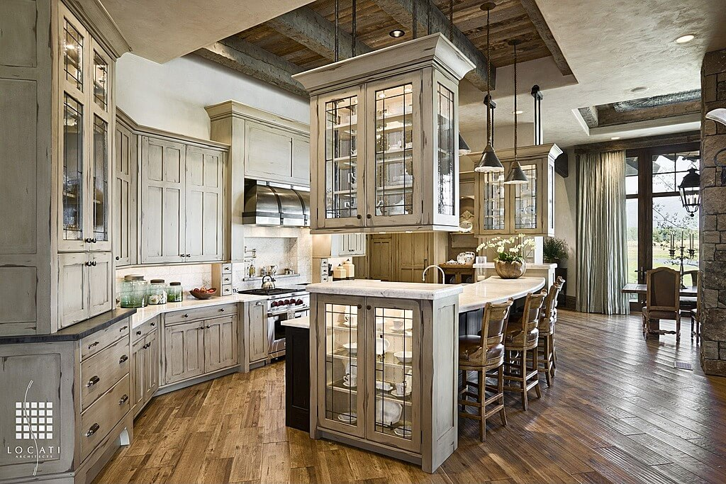 64 Deluxe Custom Kitchen Island Designs (BEAUTIFUL)