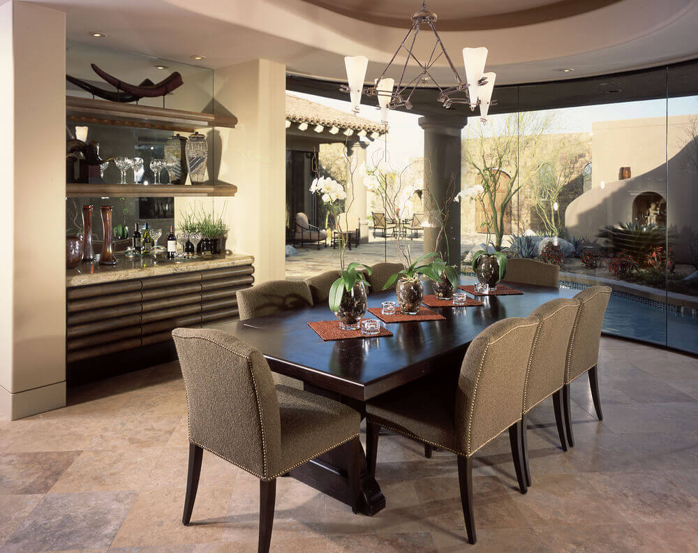 living room fireplace off centered blue accent wall ideas 126 custom luxury dining interior designs