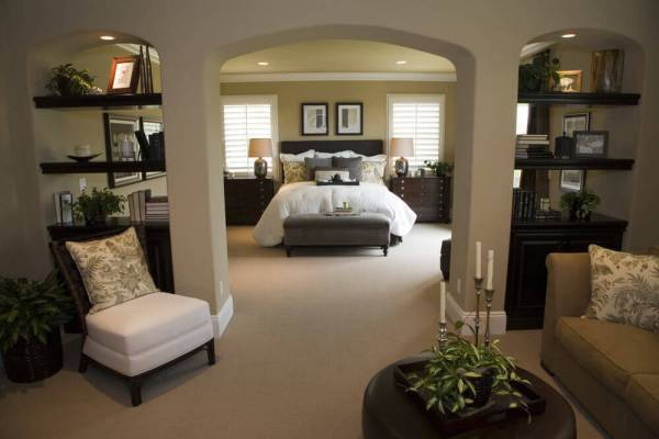 master bedroom design 50 Professionally Decorated Master Bedroom Designs (Photos)