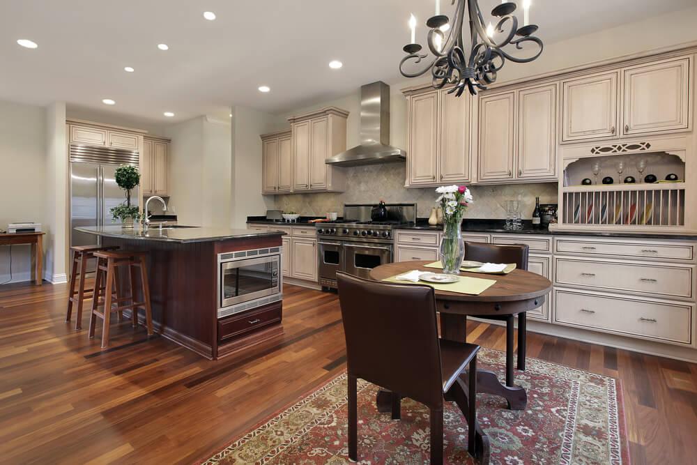 "53 Spacious ""New Construction"" Custom Luxury Kitchen Designs"