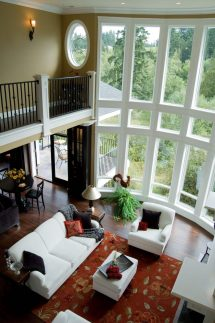 2 Story Window Living Rooms