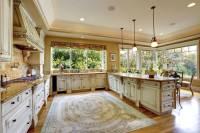 "36 Custom ""Bright & Airy"" Contemporary Kitchen Designs"