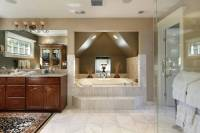 40 Luxurious Master Bathrooms (Most with Incredible Bathtubs)