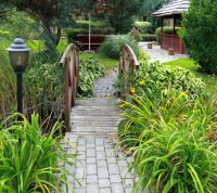 65 Walkway ideas & Designs (BRICK, FLAGSTONE & WOOD)