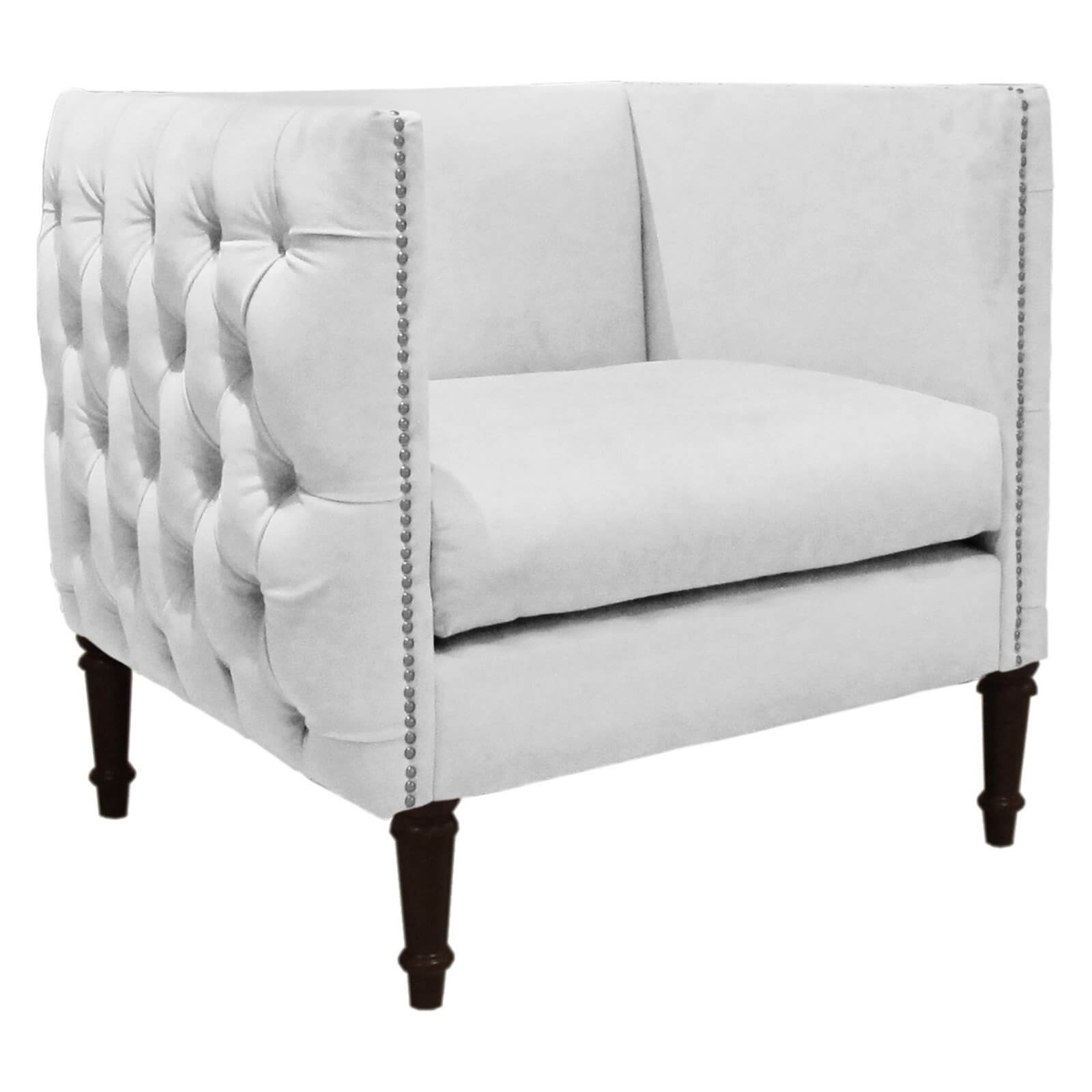 White Tufted Accent Chair 37 White Modern Accent Chairs For The Living Room