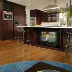 Kitchen Black Cabinets Target Chairs 52 Dark Kitchens With Wood And
