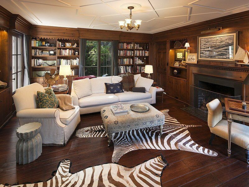 white reclining sofa and loveseat bed 17 zebra living room decor ideas (pictures)