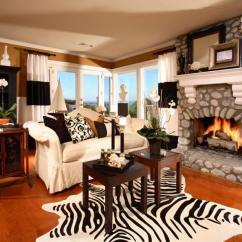 Animal Rugs For Living Room Small Open Plan Kitchen Dining And 17 Zebra Decor Ideas Pictures Casual