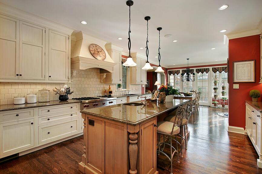 Large Galley Kitchen Design Ideas