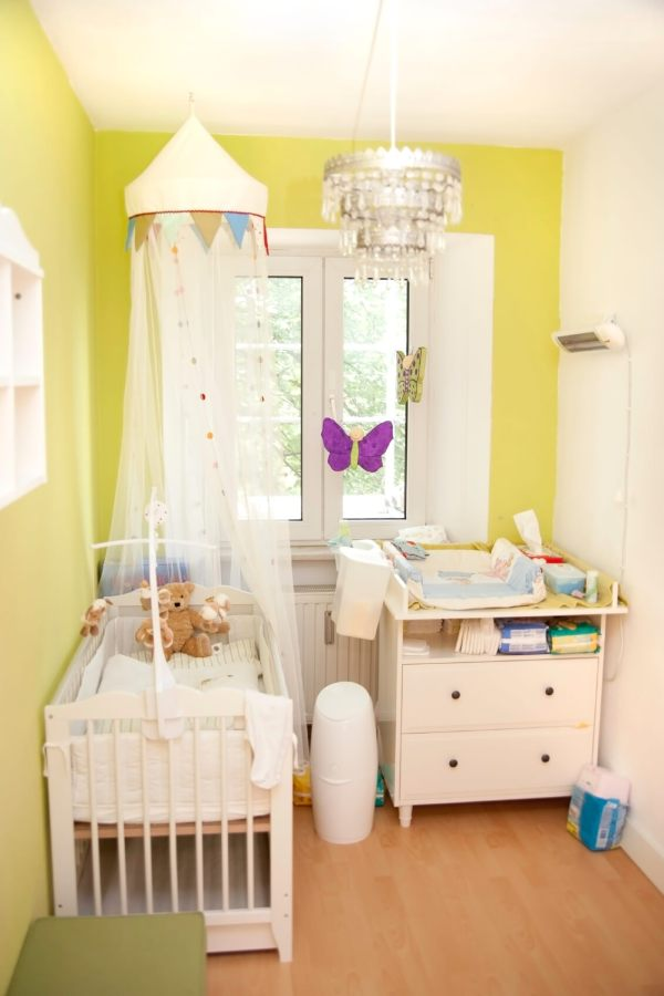 Small Space Baby Nursery