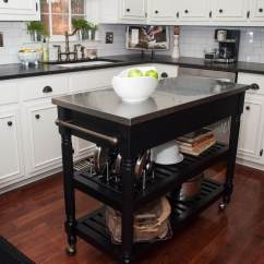 Kitchen Islands With Wheels Distressed Black Cabinets Please Look At My Stupid Rental Such A