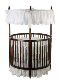 16 Beautiful Oval & Round Baby Cribs (FOR UNIQUE NURSERY