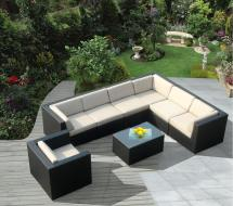 Awesome Modern Brown -weather Outdoor Patio Sectionals