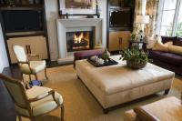 47 Beautiful Living Rooms with Ottoman Coffee Tables
