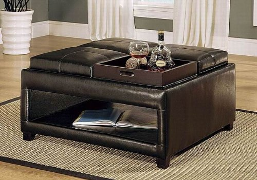 Cushion Coffee Table Storage