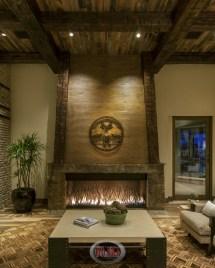 Rustic Interior Stone Fireplace Designs