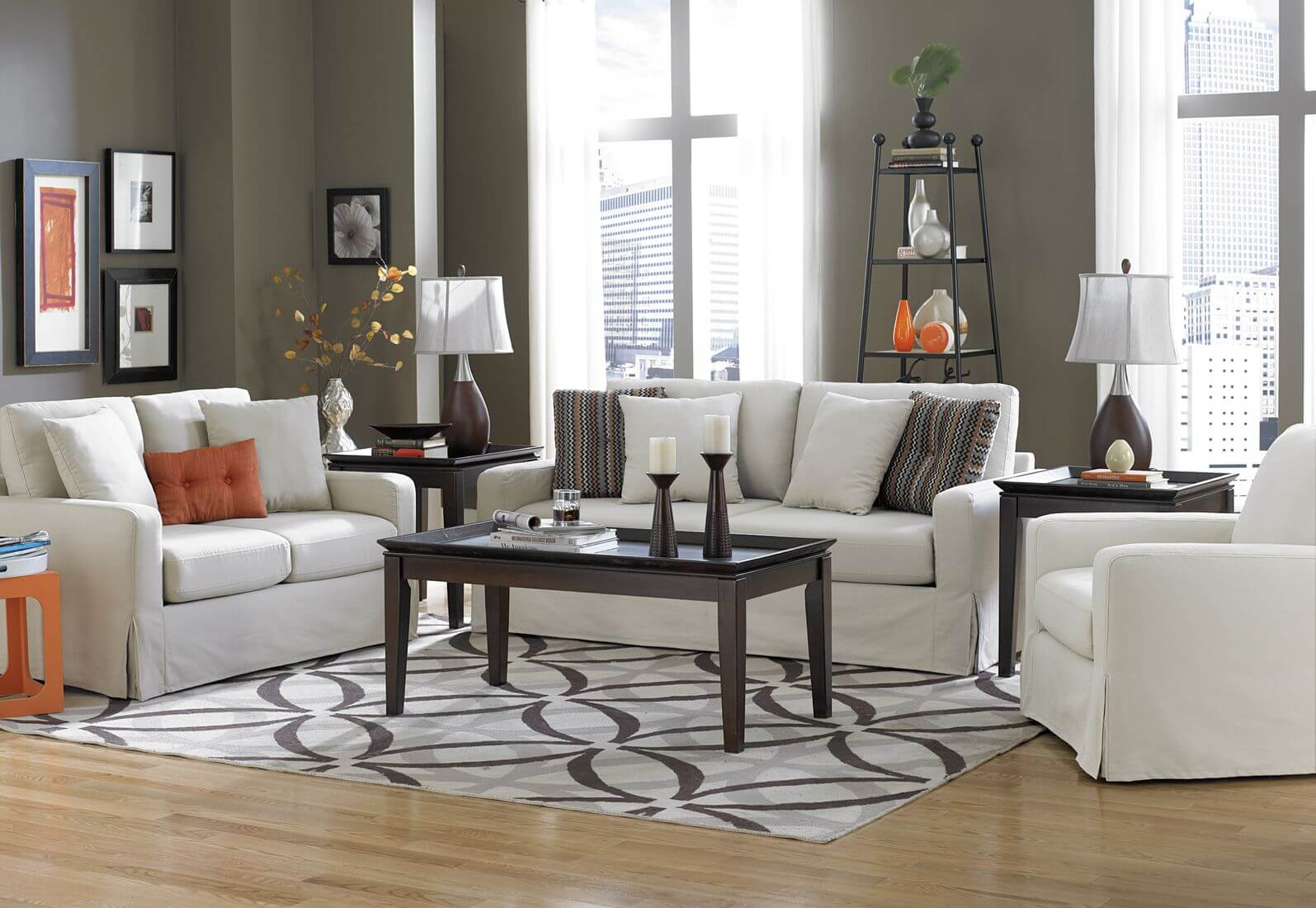 40 Living Rooms With Area Rugs For Warmth & Richness