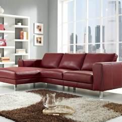 Red Modern Sectional Sofa Sleeper Inflatable Mattress 18 Stylish Sofas