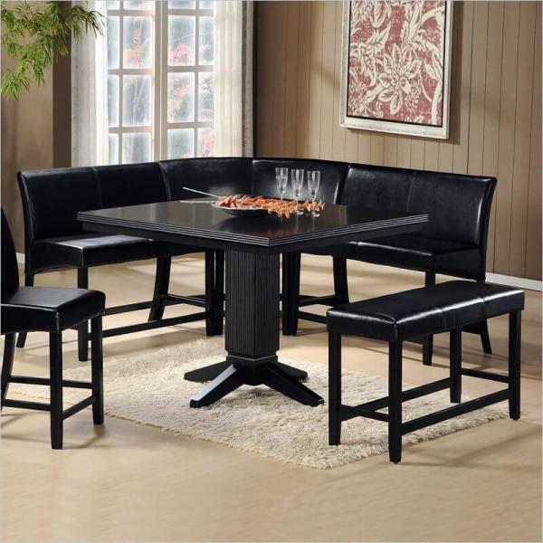 Corner Bench Dining Room Table Set