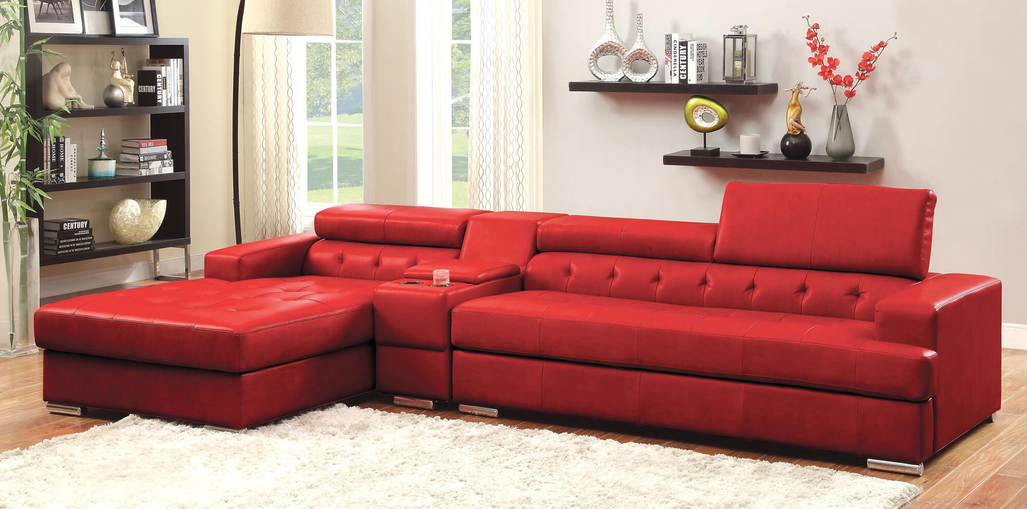 red sofa sectional drawing room designs india 18 stylish modern sofas