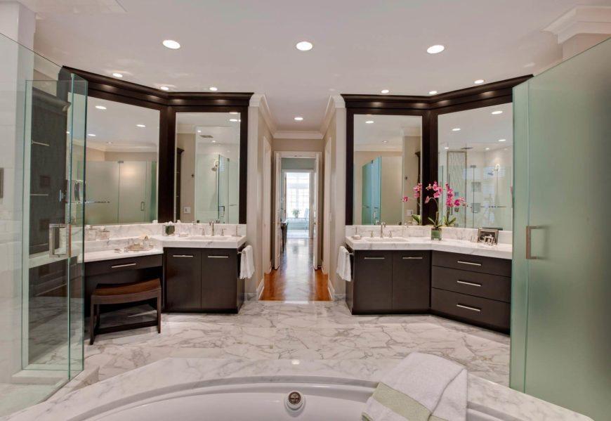 11 Striking  Innovative Master Bathrooms by Drury Design