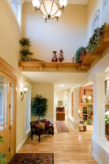 Large High Ceiling Entryway Decorating Ideas