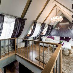 Red Modern Sectional Sofa Narrow Depth Small 21 Attic Living Room, Family Room & Tv Ideas