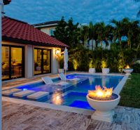 50 Upscale Backyard Outdoor In-Ground Swimming Pools