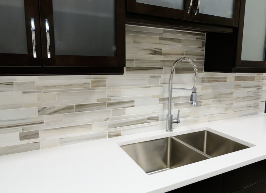 Calacatta gold subway tile backsplash honed calacatta Italian marble backsplash