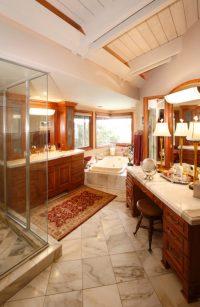 36 Master Bathrooms with Double Sink Vanities (PICTURES)