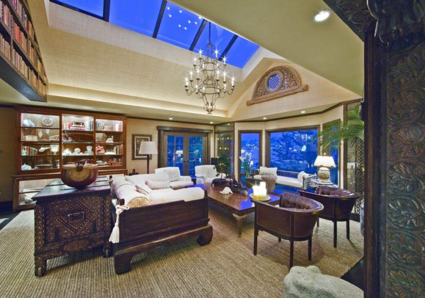 Living Room Ceiling Skylights Novocom Top