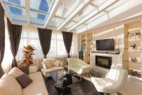 30 Naturally Lit Living Rooms with Skylights (PICTURES)