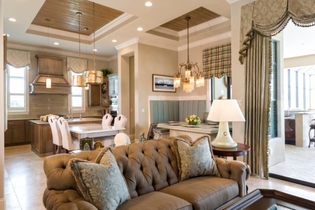 53 Living Rooms With Curtains And Ds Eclectic Variety