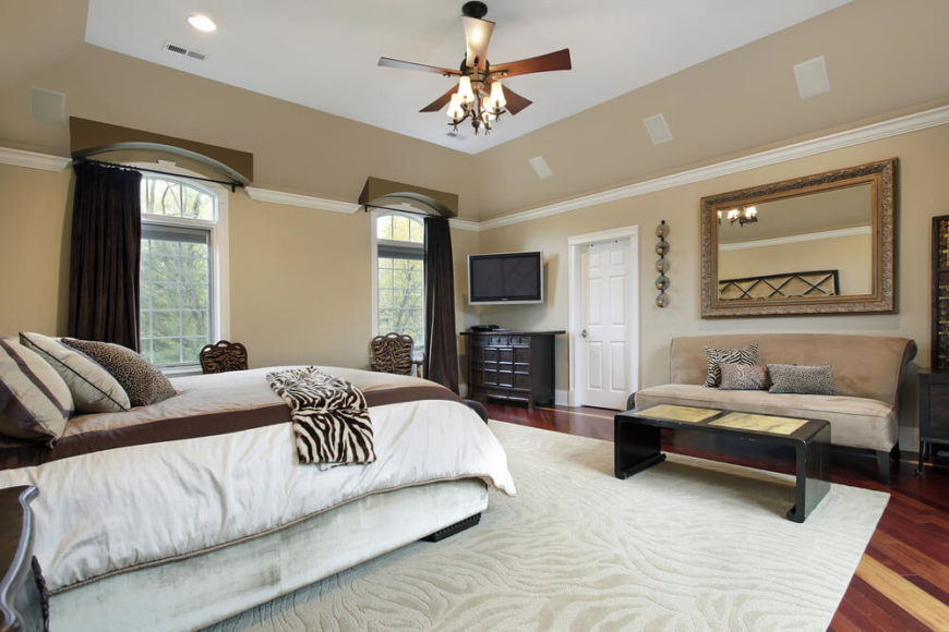 master bedrooms with sofas