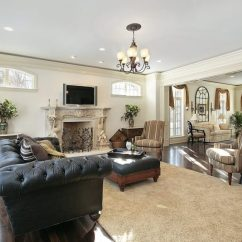 Dark Wooden Floors Living Room Traditional Sofa Sets 21 Riveting Rooms With Wood Pictures The Beautiful Continue All Throughout Main Floor Of This Home Allowing