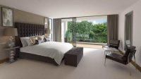 27 Elegant Bedrooms with Distinct Fabric Headboards (Pictures)