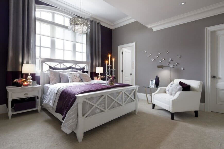 28 beautiful bedrooms with white furniture (pictures)