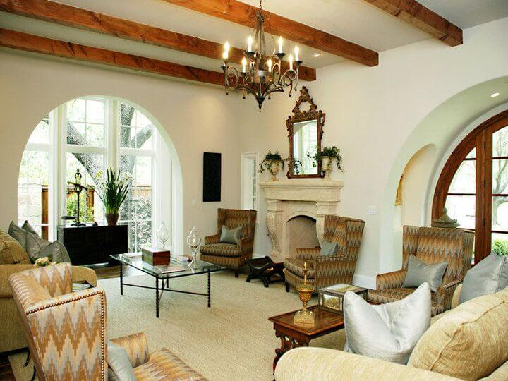 32 Spectacular Living Room Designs with Exposed Beams