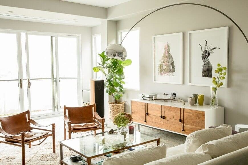 cozy living room colors what size area rug do i need for my 25 ways to make your tips tricks corliving blog this more minimalist space also uses a potted plant take up unused the