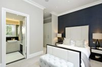24 Comfortable Bedrooms with an Interesting Accent Wall
