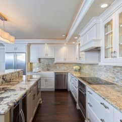 Kitchen Lights Ideas Types Of Countertops 46 Lighting Fantastic Pictures Bright Light Floods This Space From Multiple Sources The Wavy Shape Suspended