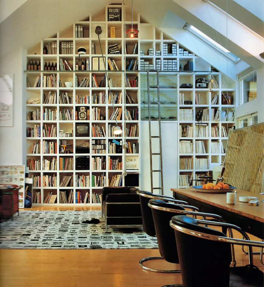 28 Breathtaking Home Library Designs (pictures
