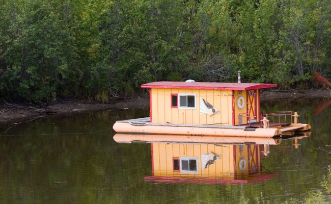 32 Incredible And Unique Houseboat Designs Photos